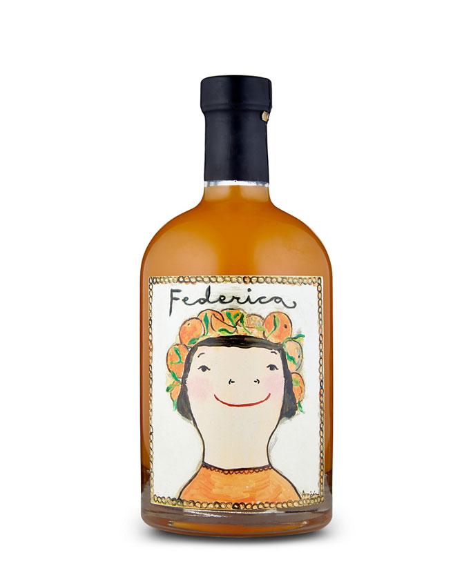 federica licor de naranja