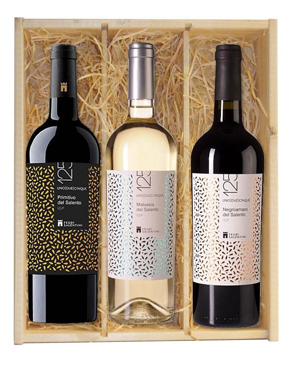 wijnkist puglia feudi salentini